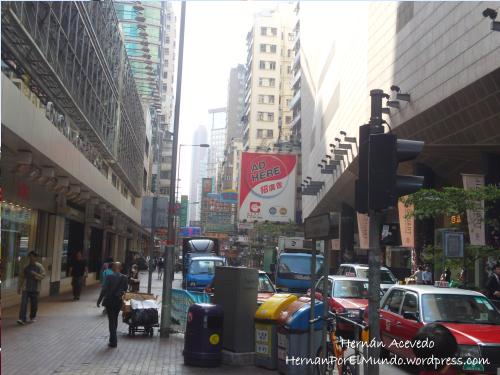 Pleno centro de Hong Kong