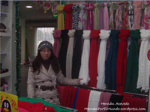 Zhufen y las bufandas.